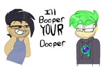 Ill Booper Your Dooper (septicplier) by KitCatKombo