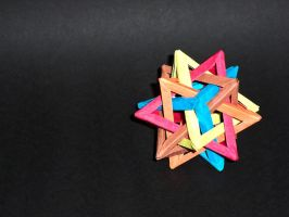 Intersecting Tetrahedra by BlitzKraft