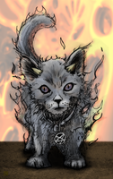 Demon Kitty by TroyCorpse