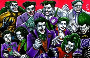 Ten Jokers by olybear