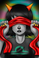Terezi blind fold by Gresta-GraceM