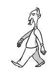 simple walk cikle animation by AJDragonTamer