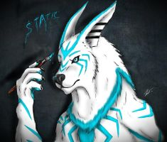 static badge by joshsmithstudio