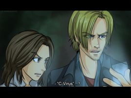 RE6 Anime Screencap by Ri-m