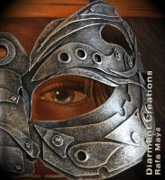 Steampunk Mask III by Diarment