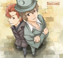 Baccano: Vino and Firo by Angels-Leaf
