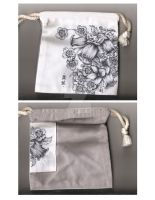 Hand drawn pouch by ikanakerebanarimasen
