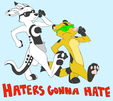 HATERS GONNA HATE by TheWardenX3