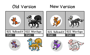 The Sly Fakemon sprites by bootlegend