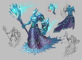Ice Mage by KhezuG