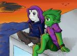 Raven X BeastBoy 6 by Artistic-Winds