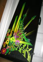Custom Guitar Case by Antares-DeathArt
