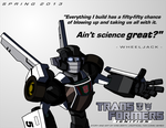 TF:Ignition Promo - WHEELJACK by KrisSmithDW