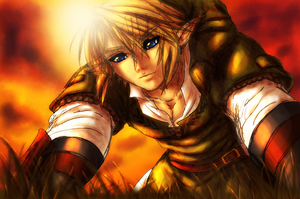 A Sigh from the Prince - Link by CrimsonxCrime