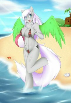 She needs her vacation (by Mleonheart) by The-Nuclear-Pegasus