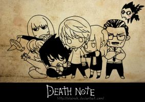 Death Note_SD_01 by elaineK
