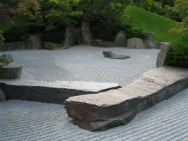 japanese garden I by two-ladies-stocks