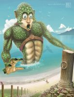 Beach Creature 2014 by muzski