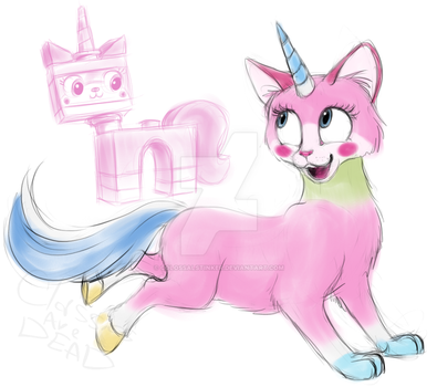 Unikitty by Nutty-Nutzis