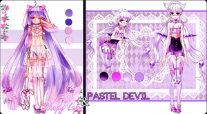 Pastel Pink Raffle Adopts by Lapia