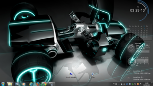 Tron Rogers1967 Rainmeter by Rogers1967