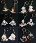 Undertale Pacifist/Genocide Charms by Armesan