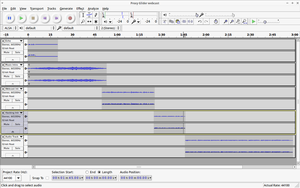 Webcast Time with Audacity by archaeobibliologist