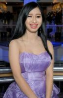 Me in the formal purple dress at FotSC cruise 2012 by Magic-Kristina-KW