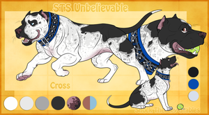 STS Dog - Cross by ShockTherapyStables