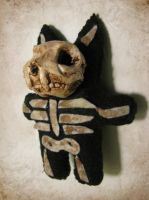 Dead Cat Plush Doll by Dr-K