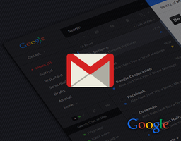 Gmail Redesign Concept by ruslanaliev
