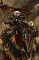 Adepta Sororitas by timterrenal