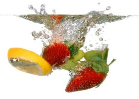 FRUIT thrown into the water 2 by AdrianaKH-75
