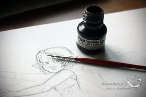 My drawing my life by kamarza
