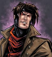 Come cover me   Gambit by PokerGambit