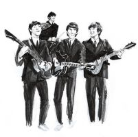 not shiny Beatles by GrungeIndiani