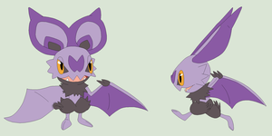 Pokemon Base 181~Noibat 2~ by Xbox-DS-Gameboy