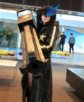 Black Rock Shooter-Cosplay by Neko-Kyohaku