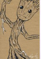 Baby Groot by BRuppert