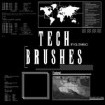 TECH BRUSHES v.2 by GlowBug