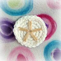 Mini Crochet Sand Cookie by MadameWario