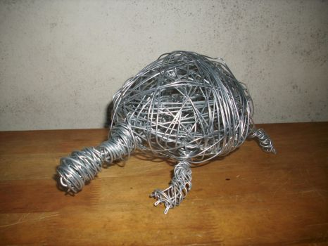 Wire Turtle 2 by CreepOfFear
