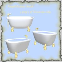 AngelMoon17-Victorian tubs by AngelMoon17