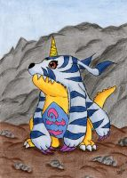 Gabumon by Kisuki89