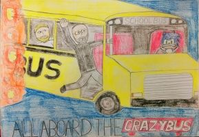 All Aboard the Crazybus!!! by LeviBrunette