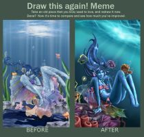 Meme: Before and After in 3 years by Feriberri