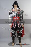 Assassin's Creed 2 II Ezio Cosplay Costume Outfit by cosplaysky123