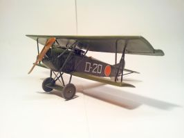 Dutch Fokker D.VII MLD 002 by BlokkStox