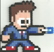 Doctor Who 10 David Tennant by Ravenfox-Beadsprites