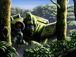 GM Sniper screen by Mecha-Mania